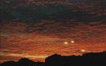 НЛО в ночи