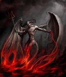 Огонь и демон