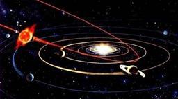 Проекция орбиты Небиру