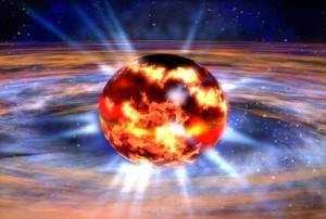 Созревшая звезда скоро откроет пространство