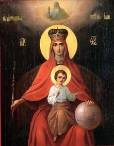 Святая Матерь Божия