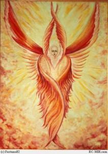 Ангел огня и оживления тел поглощенных Тьмой и хаосом