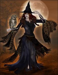 ведьма в молодости