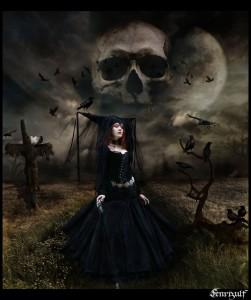 сила пребывает в ведьме
