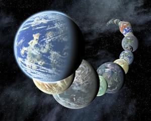 Новые земли Вселеной