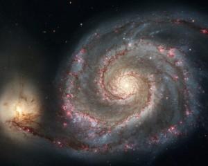 две галактики