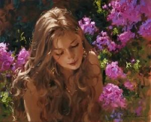 Я, цветок любви