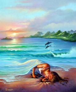 Волны убаюкивают