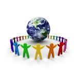 Общества и земной шар