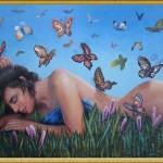Мысли как бабочки, пребываю возле нас