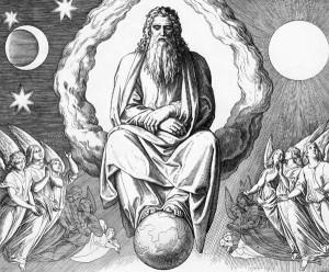 Бог и ангелы