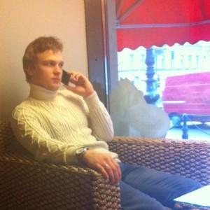 На телефоне