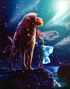 Лев во всей красе