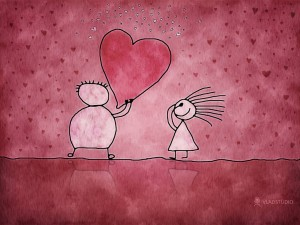 В розовом цвете любви