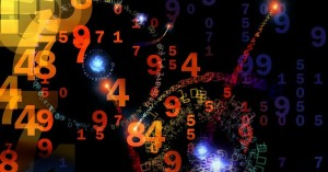 Знак числа и пространство