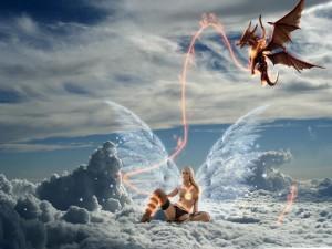 Питает дракона